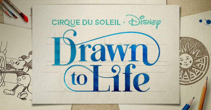 """Cirque du Soleil Show """"Drawn to Life"""""""