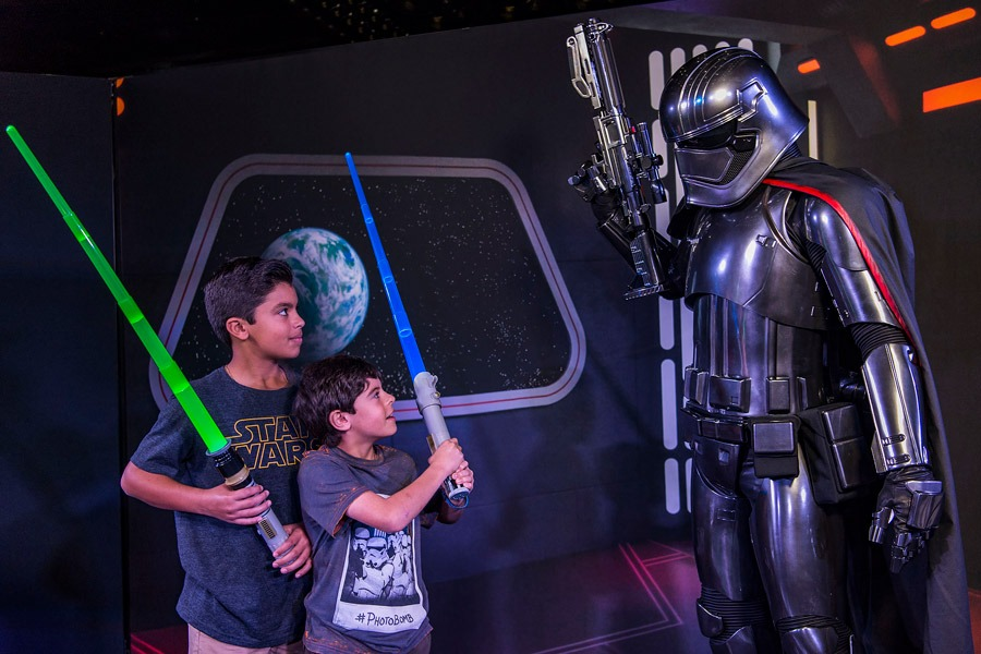 Young guests meet Captain Phasma during Star Wars Day at Sea