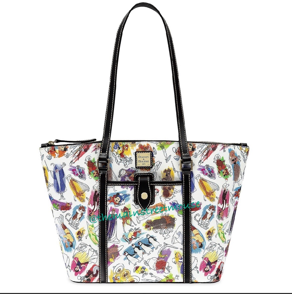 New Disney Ink & Paint Dooney and Bourke Collection! 5