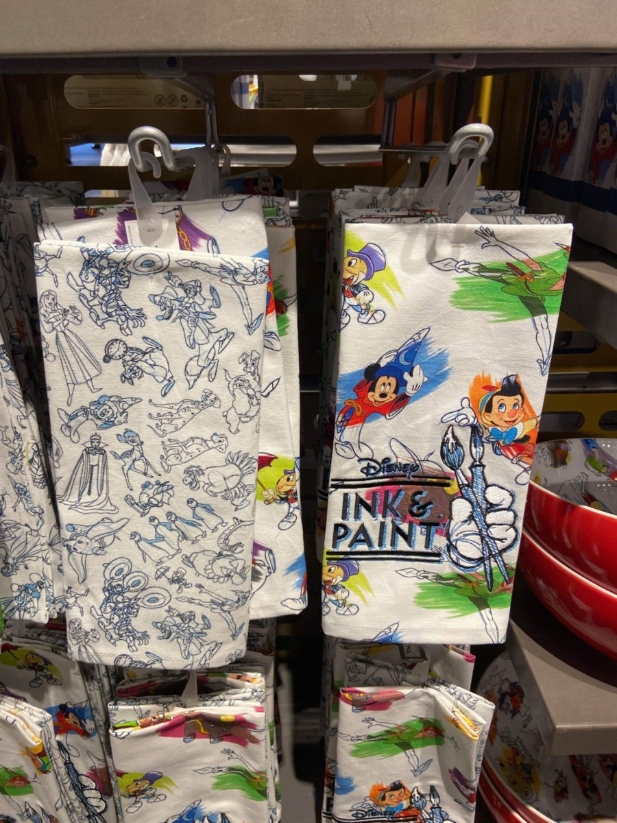 Disney Ink & Paint Line for the Home! 1