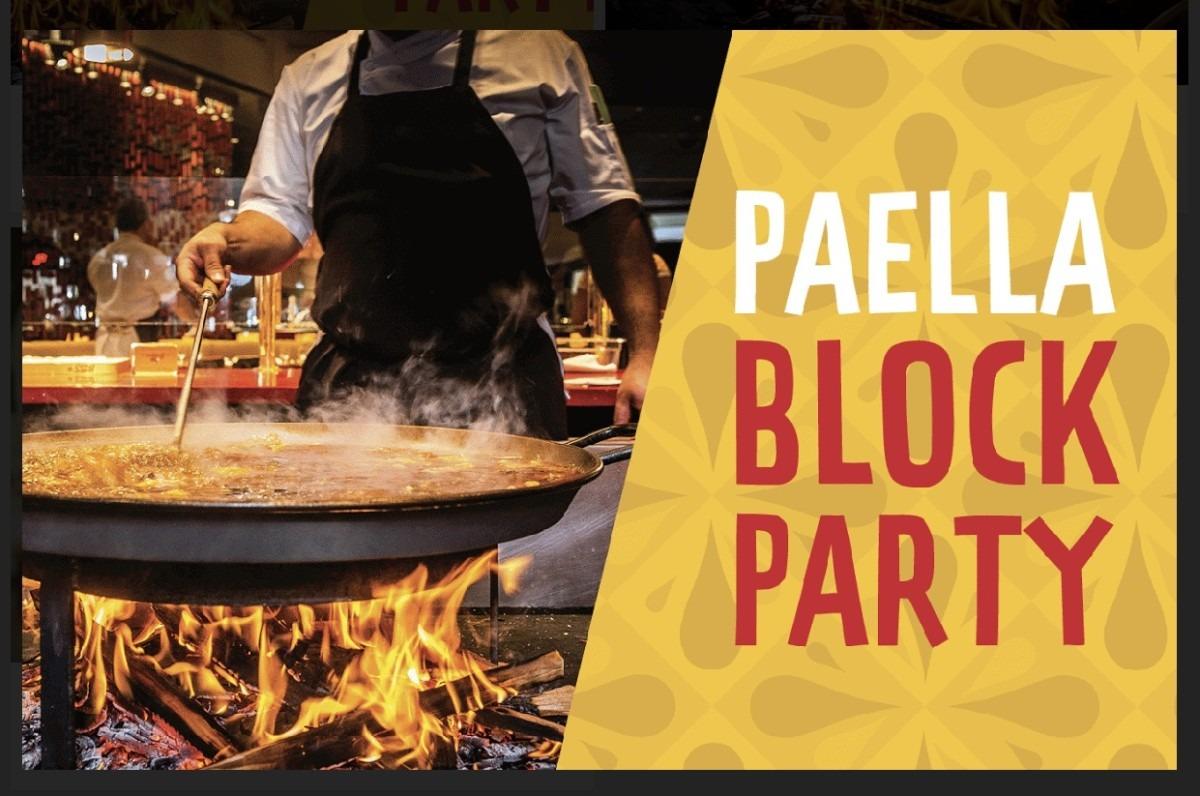 Paella Block Party at Disney Springs! 1
