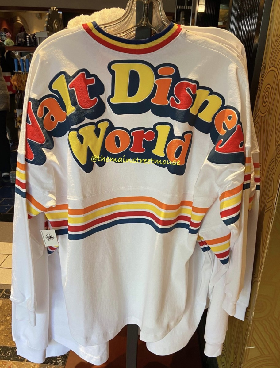 New Retro Style Merch at Disney Parks! Spirit Jersey, Shoes and More! 1