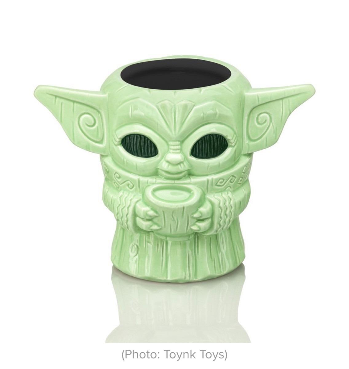Star Wars: Baby Yoda Gets His Own Tiki Mug! 1