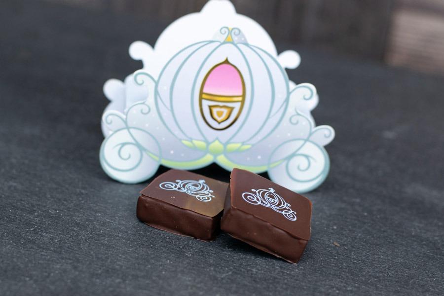 Cinderella's Coach Chocolate Box from The Ganachery at Disney Springs