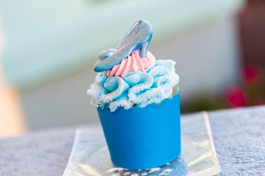 Glass Slipper Cupcake from Disney's Pop Century Resort and Disney's Art of Animation Resort