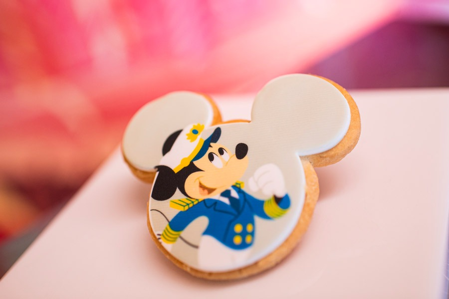 Captain Mickey Mouse Cookie