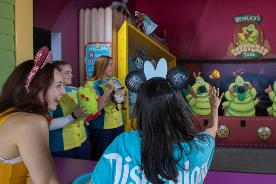 The Games of Pixar Pier
