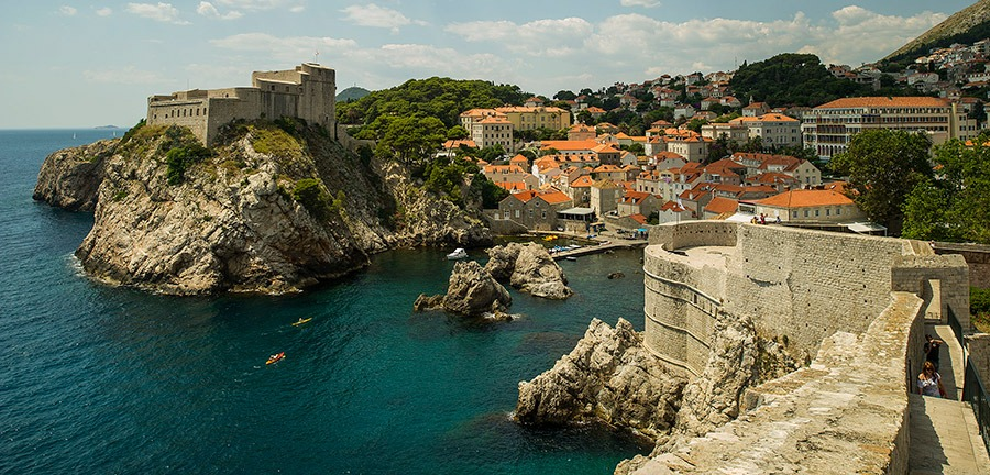 Disney Cruise Line - Dubrovnik seaside
