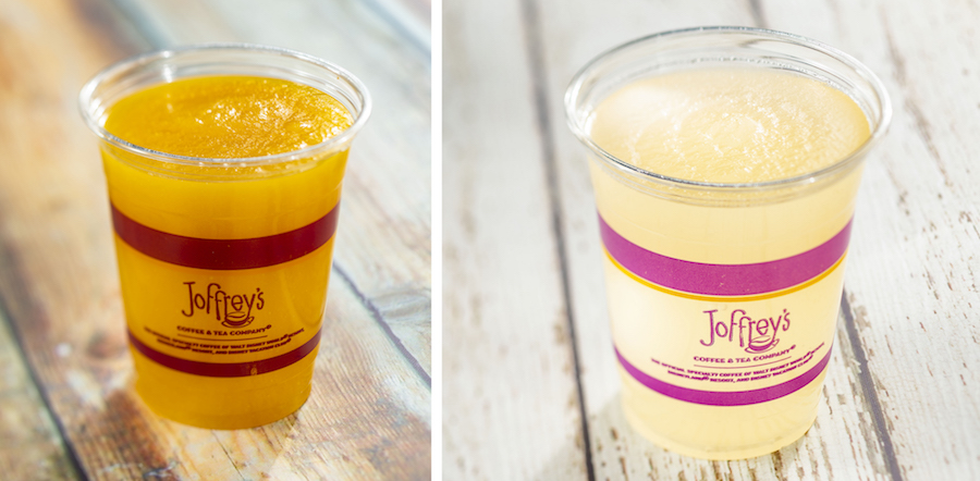 Offerings from the Joffrey's Coffee & Tea Co. for the 2020 Epcot International Flower & Garden Festival