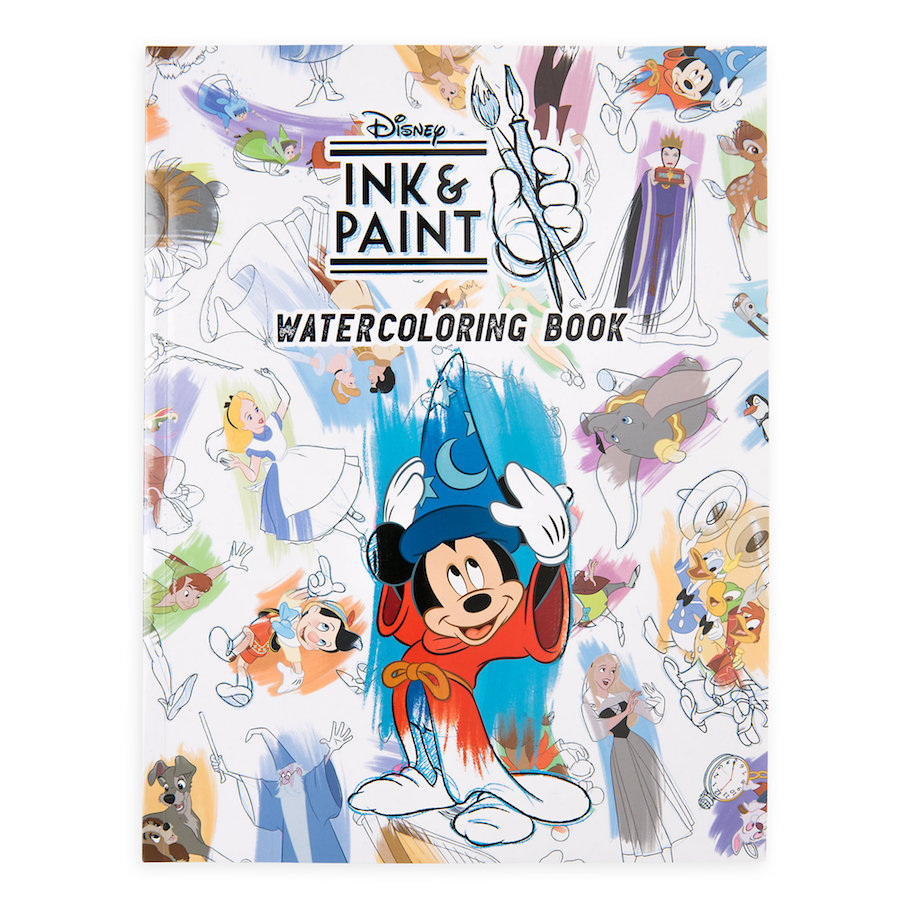 Ink & Paint Coloring book