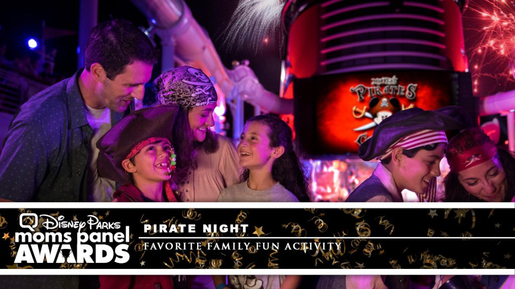 Pirate Night on Disney Cruise Line
