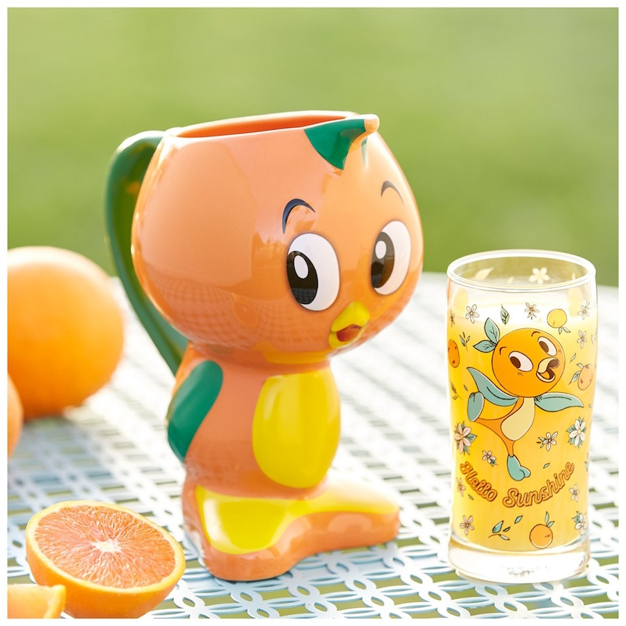 Orange Bird's Hello Sunshine Pitcher and cup