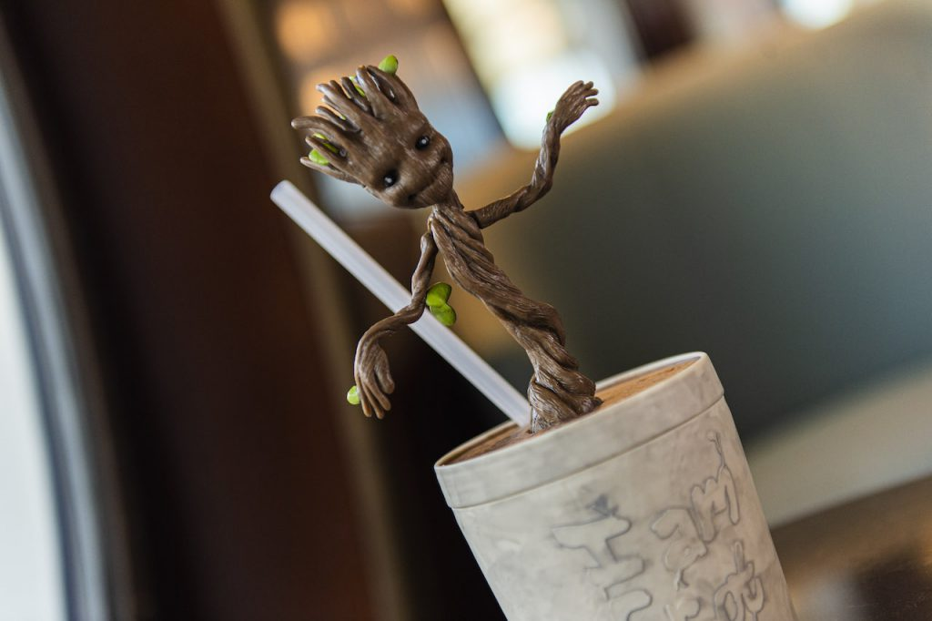 """I am Groot"" drinkware"