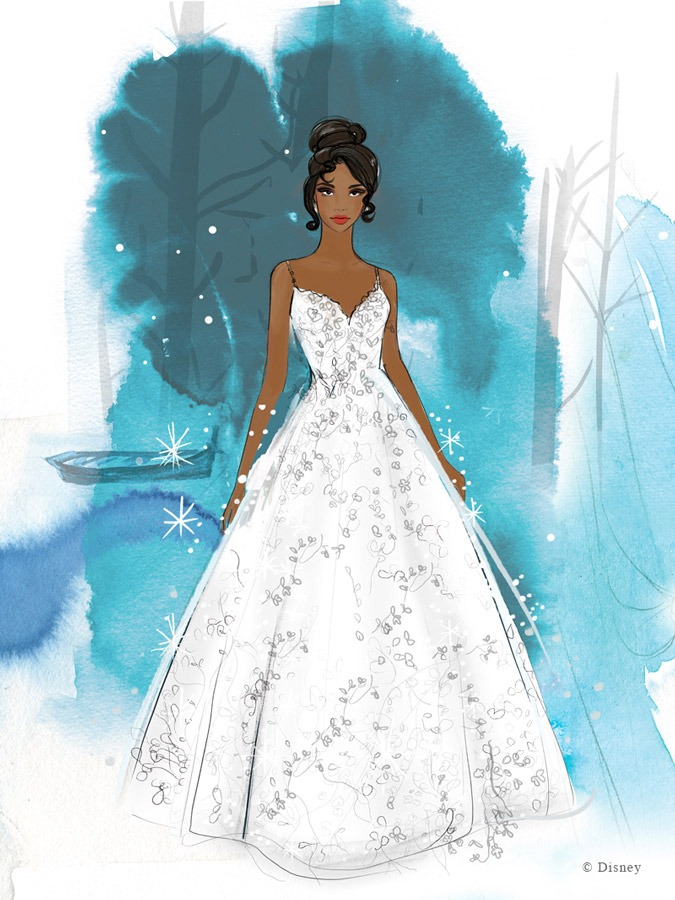 Disney Fairy Tale Weddings Collection from Allure Bridals - Tiana