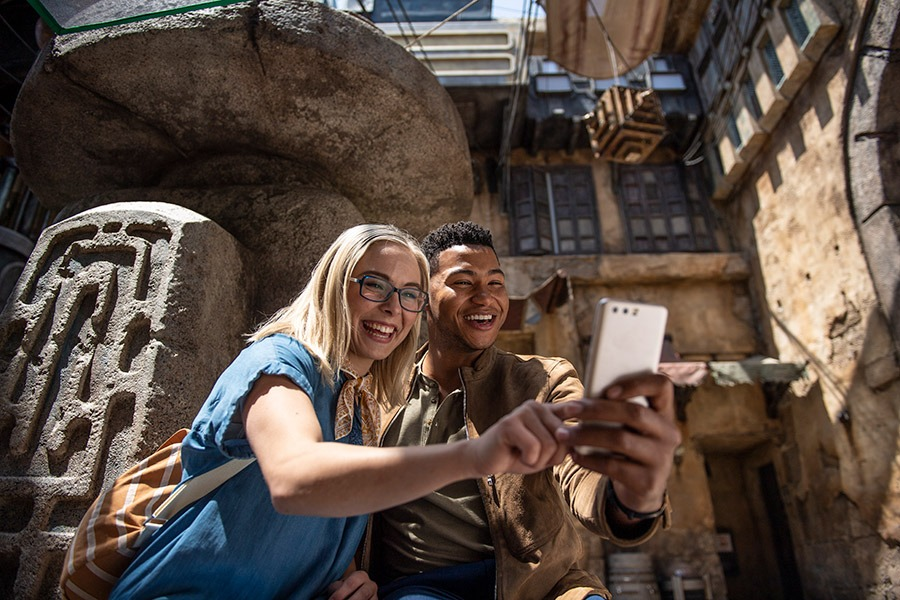 Disney FASTPASS for Millennium Falcon: Smugglers Run at Disneyland park available through the Disneyland App