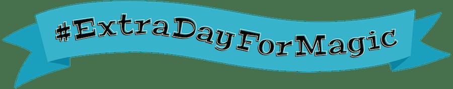 #ExtraDayForMagic banner logo