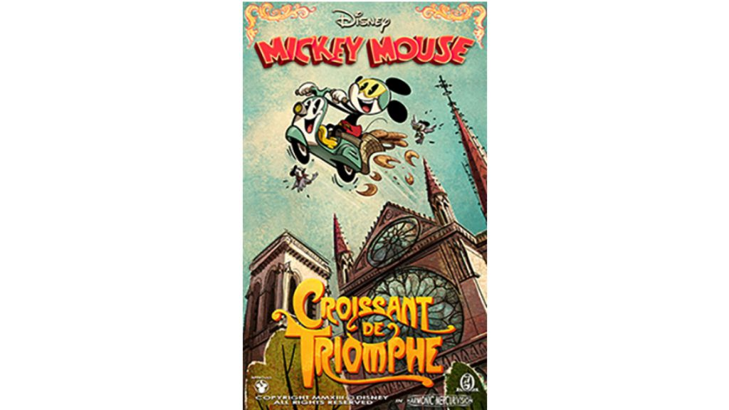'Croissant de Triomphe' Poster