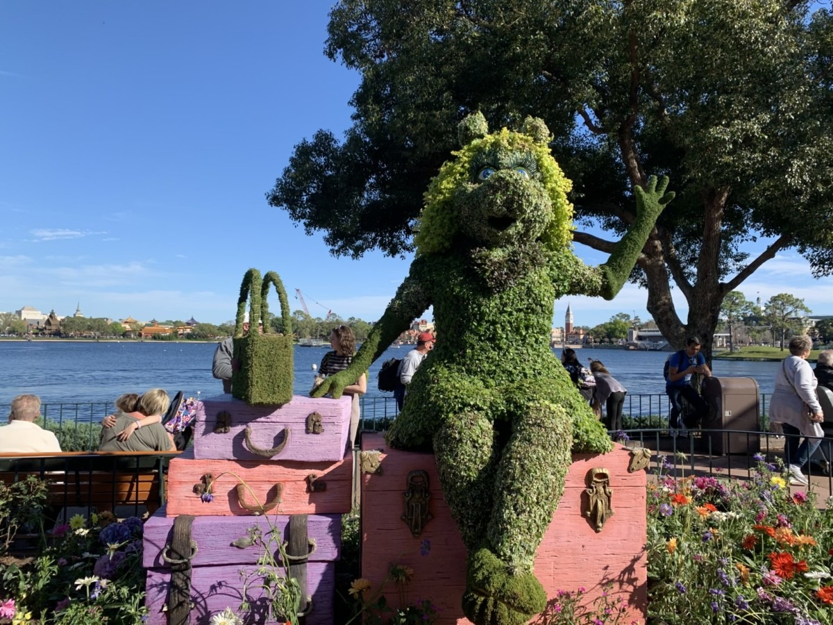 Getting ready for Epcot's Flower and Garden Festival! #freshepcot 6