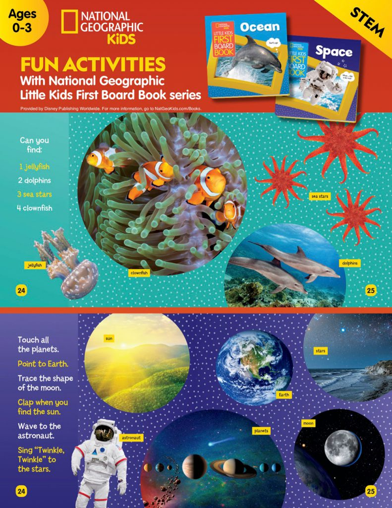 Fun Activities with National Geographic Little Kids First Board Book Series