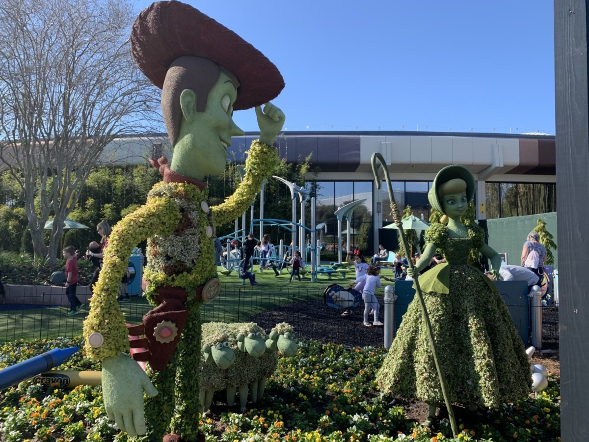 Getting ready for Epcot's Flower and Garden Festival! #freshepcot 5