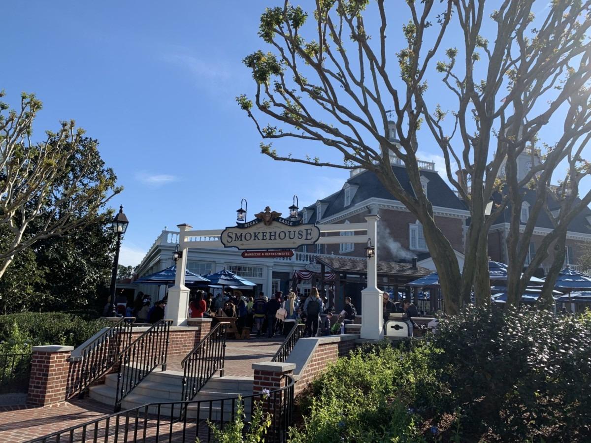 Photos of the New Regal Eagle Smokehouse at Epcot 3