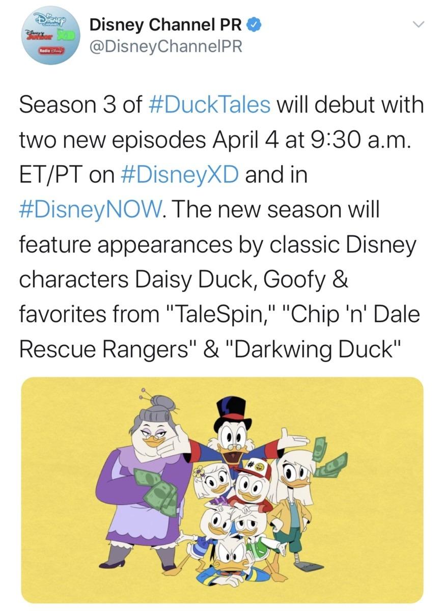 DuckTales Season 3 Premiere Date Announced 3