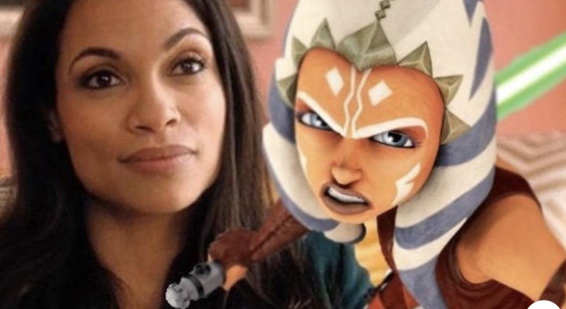 Star Wars: The Mandalorian Season 2 Casts Rosario Dawson as Ahsoka Tano 1