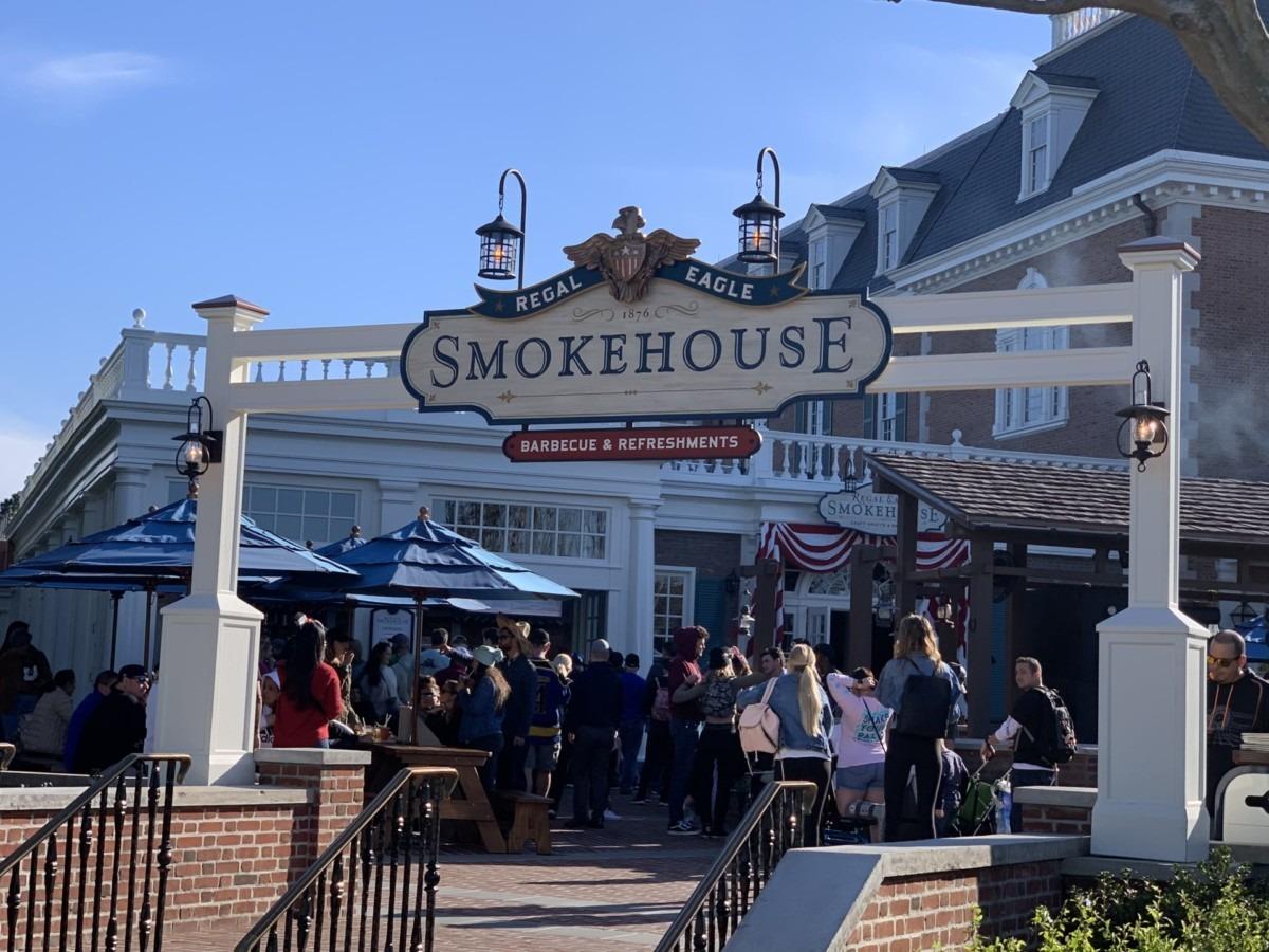 Photos of the New Regal Eagle Smokehouse at Epcot 1