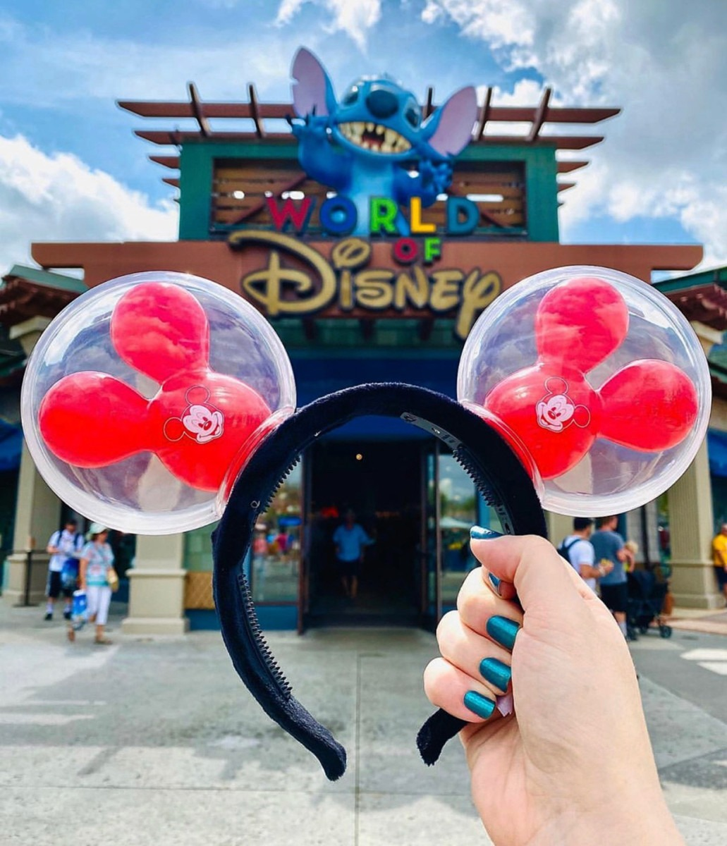 New Mickey Balloon Ears at Disney Springs 1