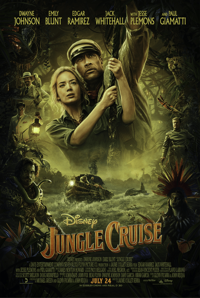 Disney's Jungle Cruise New Trailer and Poster 1
