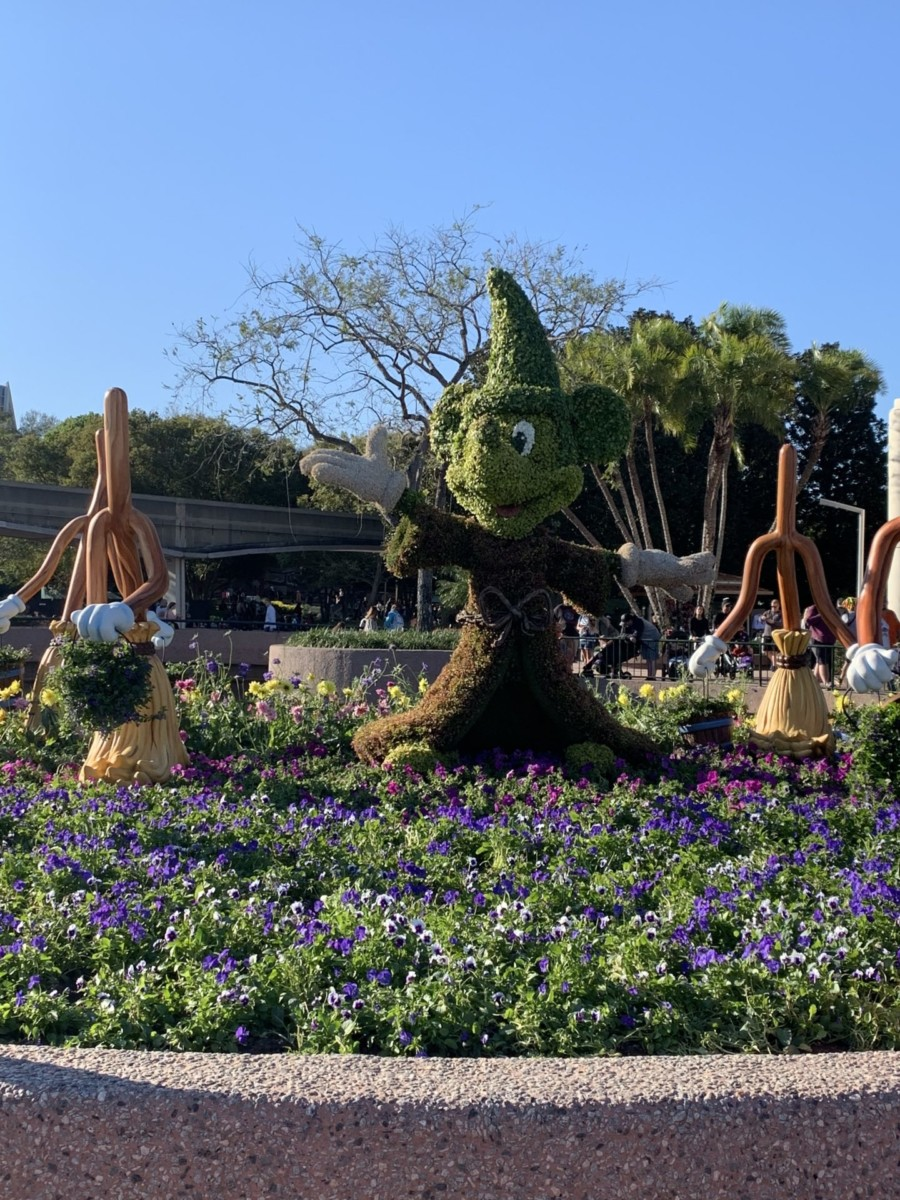 Getting ready for Epcot's Flower and Garden Festival! #freshepcot 11