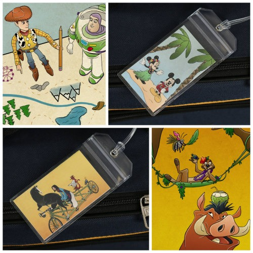 Free Printable Disney Luggage Tags are Here! 1