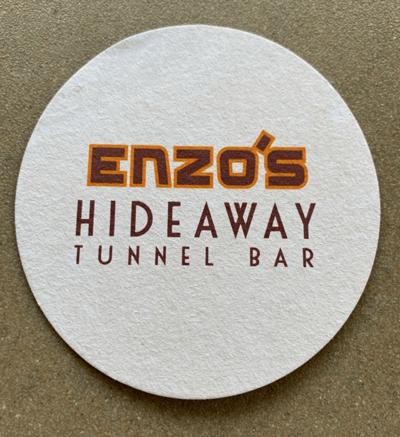 Disney Destinations~Enzo's Hideaway Tunnel Bar & Restaurant 1