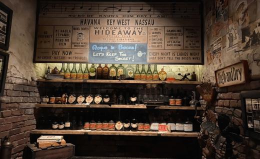 Disney Destinations~Enzo's Hideaway Tunnel Bar & Restaurant 3