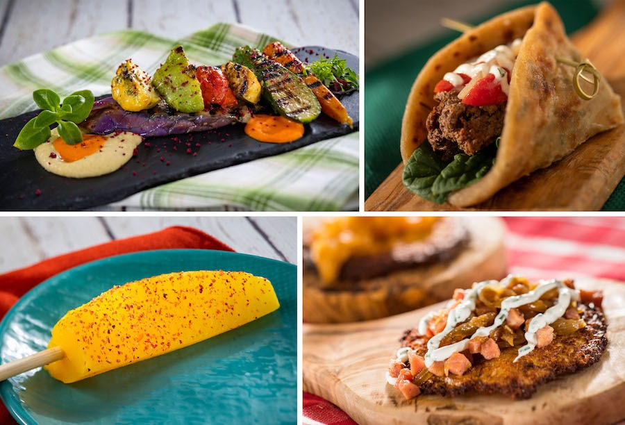 Plant-Based Items from the 2020 EPCOT International Flower & Garden Festival