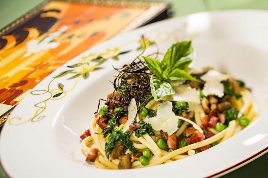 Charlotte La Bouff's Bucatini Pasta
