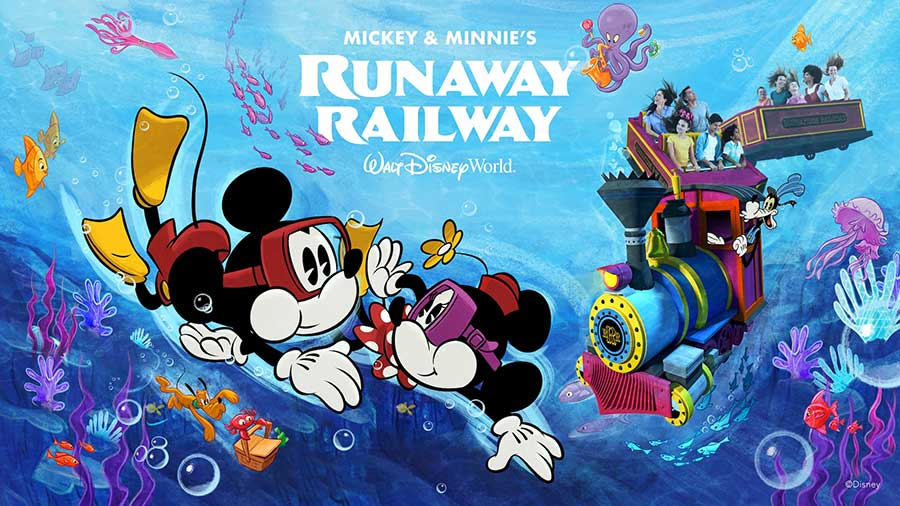 "This all-new attractions starring Mickey and Minnie Mouse ""sounds"" like a lot of fun!"