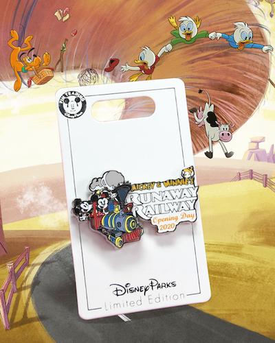 Mickey & Minnie's Runaway Railway2020 dated limited edition pin