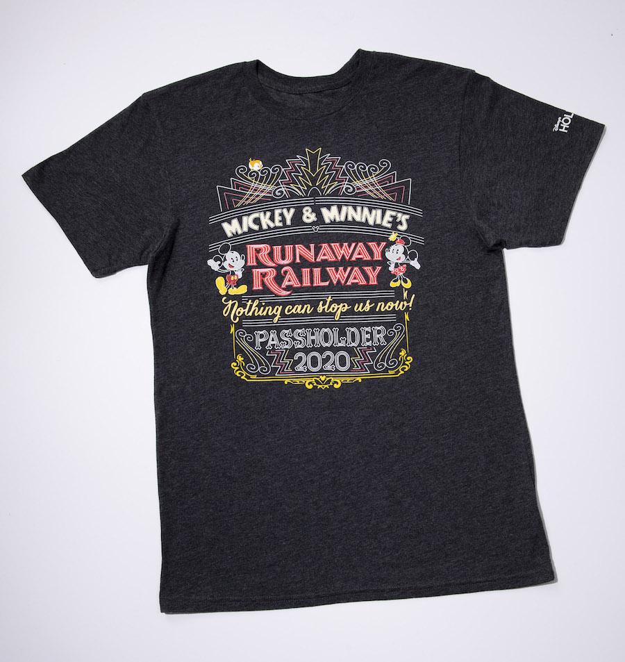 Mickey & Minnie's Runaway Railway Passholder T-shirt