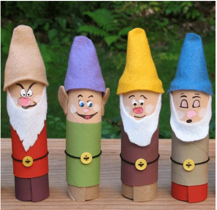 Disney Crafting Fun - Seven Dwarfs #disneymagicmoments 1