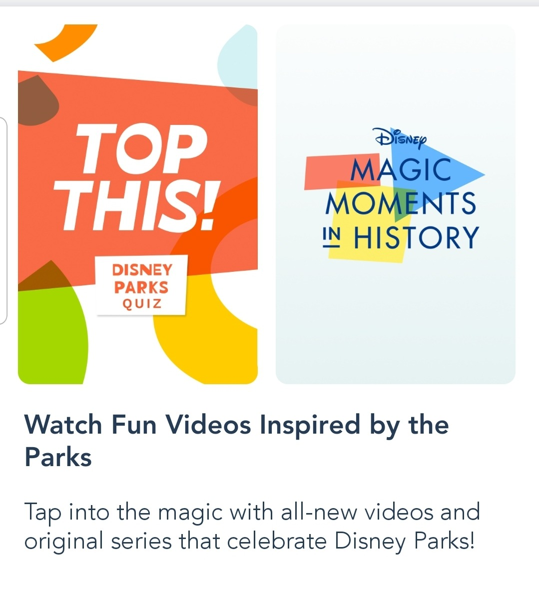 Fun on the My Disney Experience App! 3