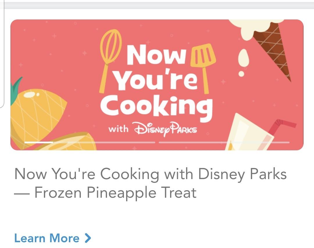 Fun on the My Disney Experience App! 2