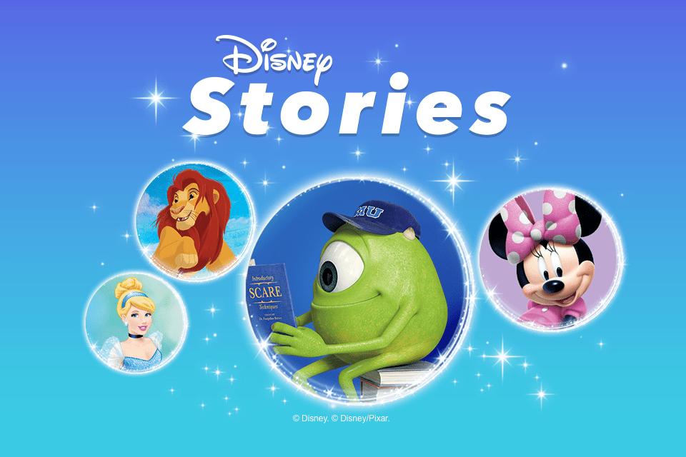 Disney Stories stickers