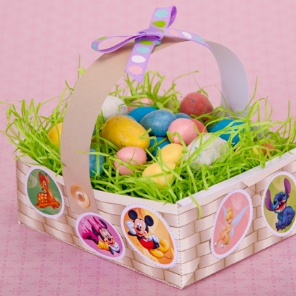 Disney Character Easter Basket ~ Cute Craft Idea! 1