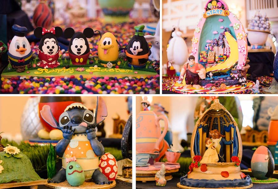 Easter Egg Displays from Disney's Yacht & Beach Club Resorts