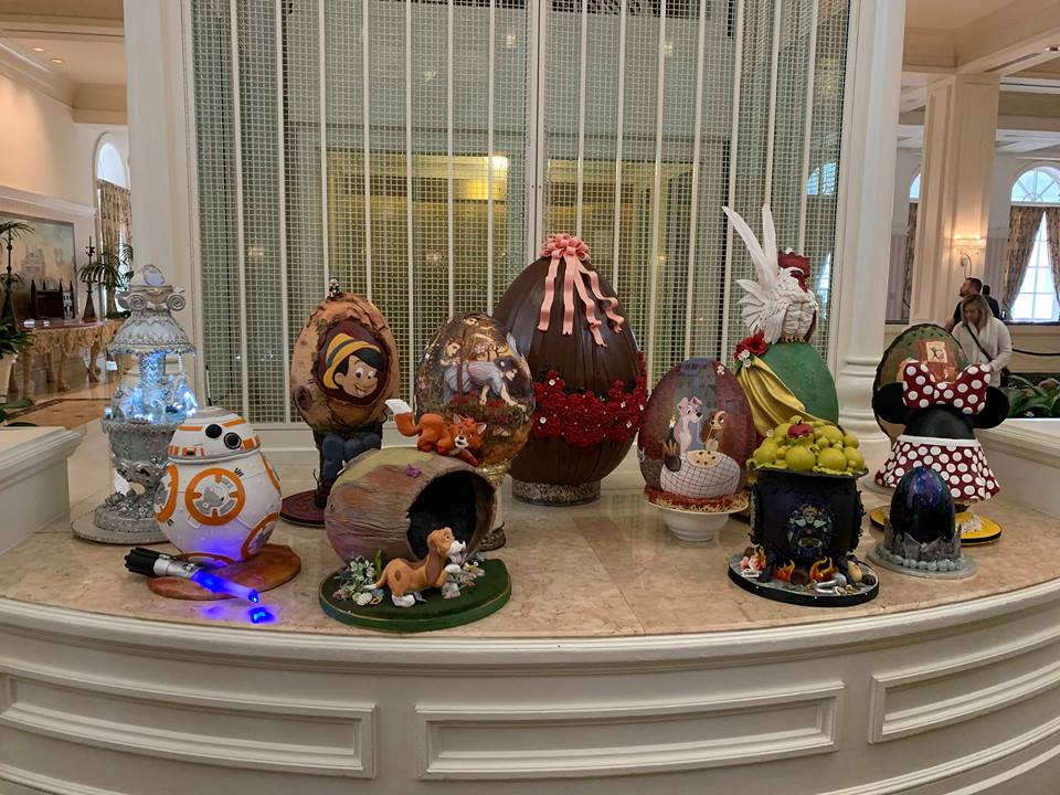 Missing the Chocolate Easter Egg Display at Disney's Grand Floridian Resort! 5