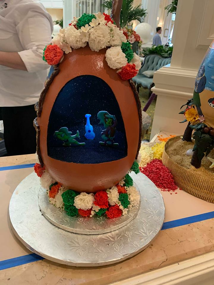 Missing the Chocolate Easter Egg Display at Disney's Grand Floridian Resort! 3