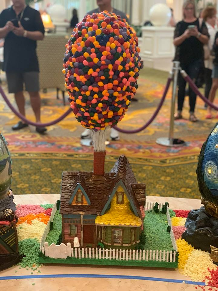 Missing the Chocolate Easter Egg Display at Disney's Grand Floridian Resort! 8