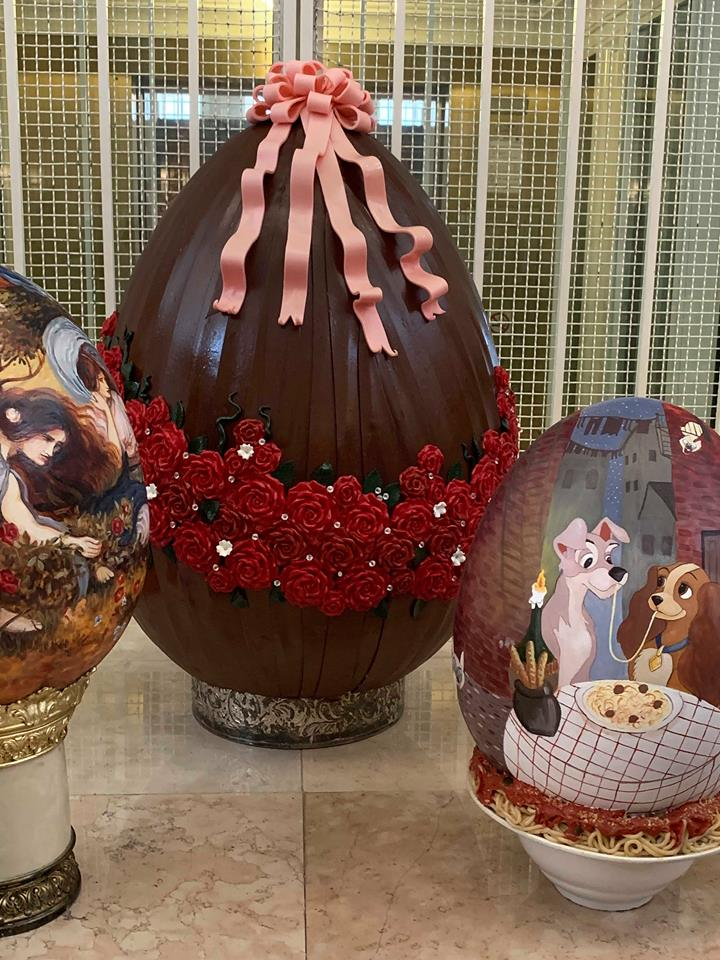 Missing the Chocolate Easter Egg Display at Disney's Grand Floridian Resort! 9