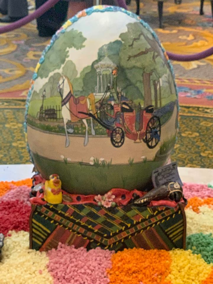 Missing the Chocolate Easter Egg Display at Disney's Grand Floridian Resort! 10